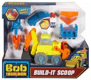 Mówiąca Koparka Zbuduj Mnie Bob Budowniczy Fisher Price FFX71