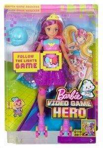 Księżniczka na wrotkach z grą pamięci Barbie w Świecie Gier Mattel DTW00