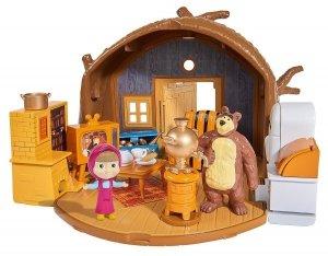 Masza i Niedźwiedź Duży Rozkładany Domek Niedźwiedzia Simba 9301632