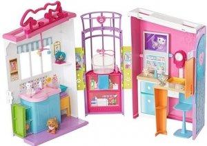 Lecznica dla zwierząt Zestaw Barbie Mattel FBR36