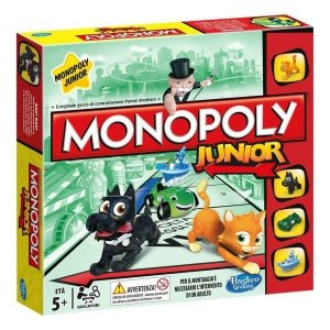 Gra planszowa Monopoly Junior Hasbro A6984