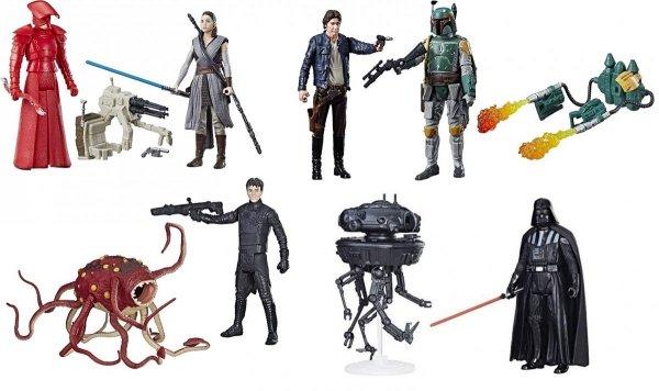 Star Wars E8 Zestaw figurek Deluxe 2-pack Hasbro C1242