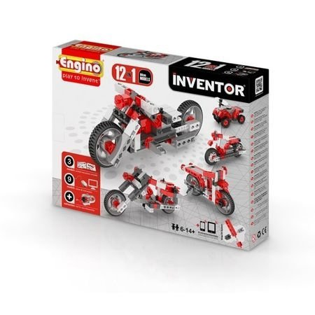 Klocki konstrukcyjne Engino Inventor 12w1 Motory Engino Formatex 1232