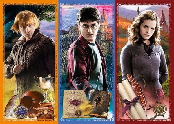 Puzzle W Świecie Magii i Czarów Harry Potter 200 el.