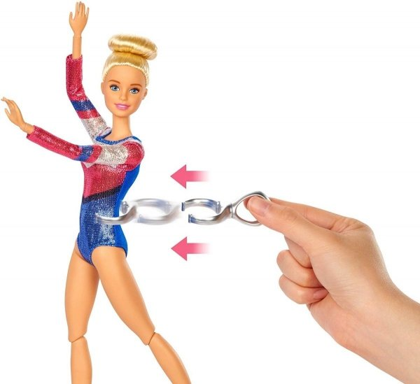 Barbie akrobatka