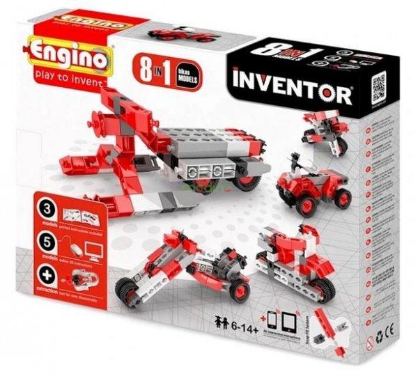 Klocki konstrukcyjne Engino Inventor 8w1 Motory Engino Formatex 0832