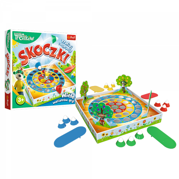 Gra Zręcznościowa Skoczki Rodzina Treflików Trefl 01905