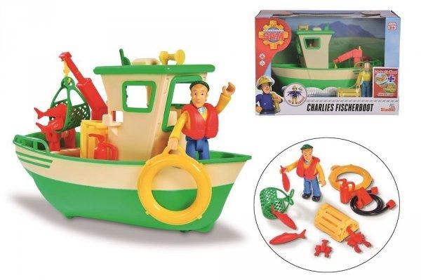 łódź strażak sam