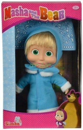 Miękka lalka zimowa Masza i Niedźwiedź