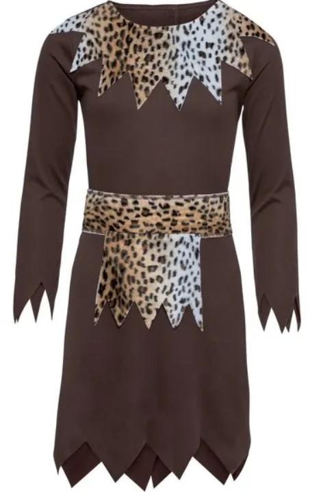Strój Karnawałowy Kostium Viking Dziewczynka r. 122/128
