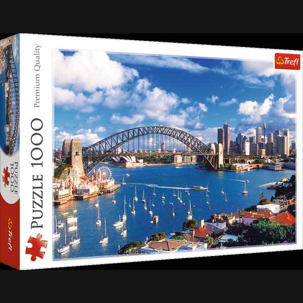 Puzzle Port Jackson Sydney 1000 el. Trefl 10206
