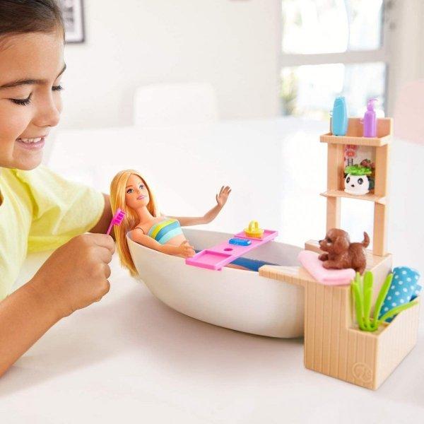 Lalka Barbie Relaks w kąpieli Mattel