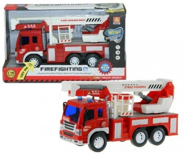 Straż pożarna Interaktywny Pojazd Madej Zabawka
