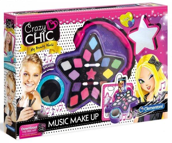 muzyczny makijaż zestaw crazy chic 78416