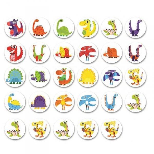 Gra na Spostrzegawczość Dinozaury