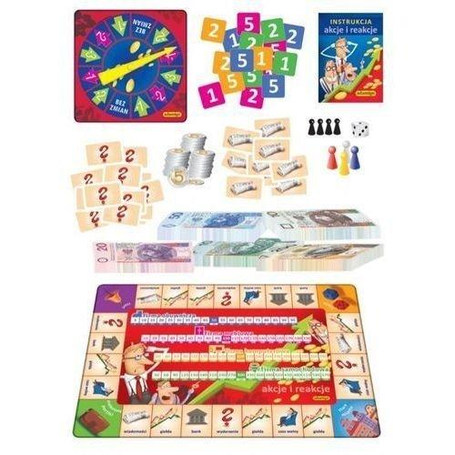 Gra edukacyjna Akcje i reakcje Adamigo 00692
