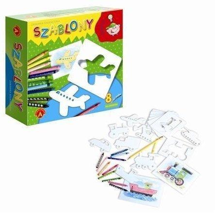 Gra Szablony dla chłopców Alexander 0575