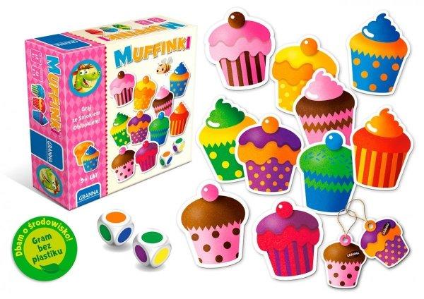 Gra Zręcznościowa Muffinki Graj ze Smokiem Obibokiem Granna 00361