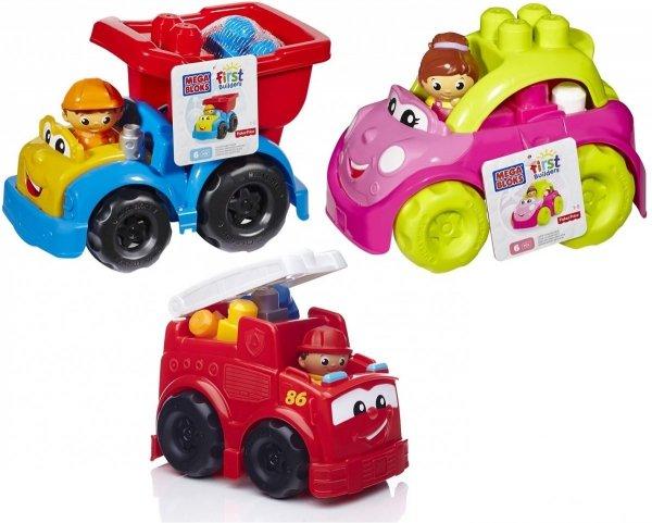 Mega Bloks Mix pojazdów Mattel CND37