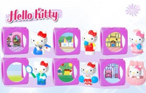Kostki Hello Kitty