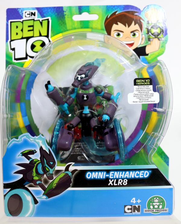 Omni-Enhanced XLR8 ben 10