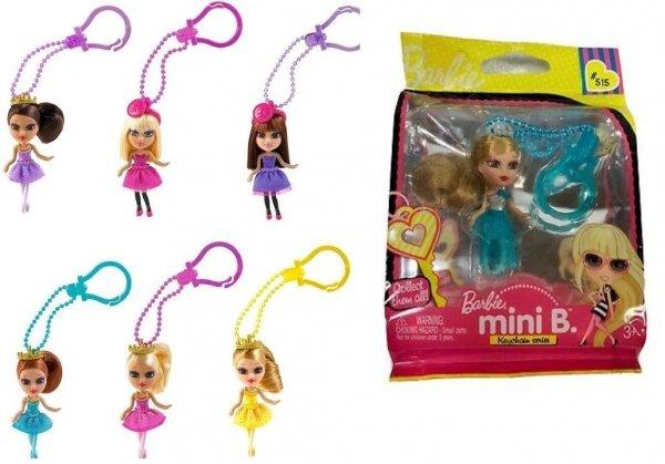 Lalki Barbie mini B Breloczek Mattel T1424