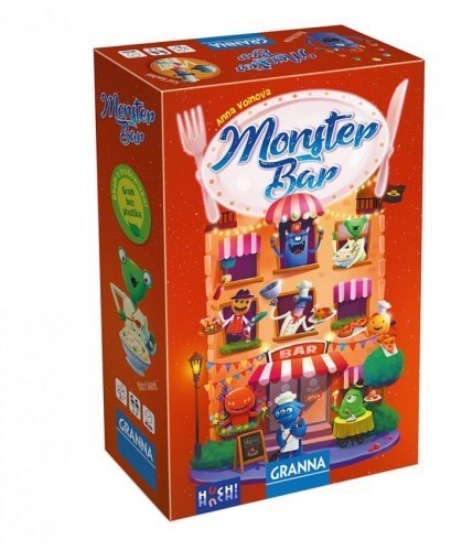 Gra Monster Bar Granna 00259
