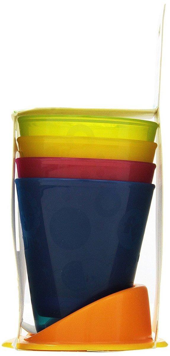 Kolorowe kubeczki z podstawką Fisher Price Y3536