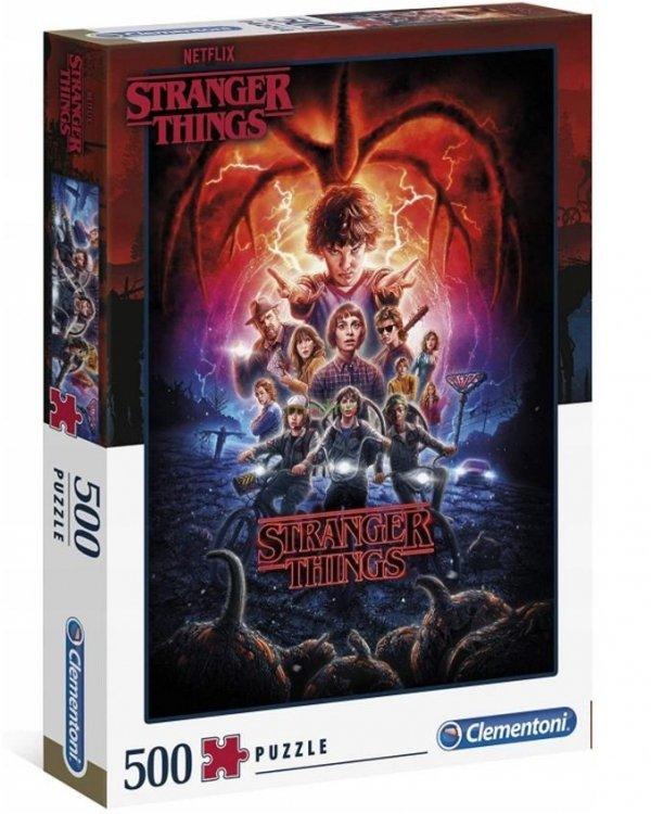 Puzzle Stranger Things Netflix 500 el. Clementoni 35087