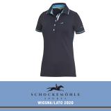Koszulka polo MANOLI SS20 - Schockemohle - moonlight blue