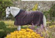 Derka polarowa RHINO Fleece - Horseware - Black/Green & Red
