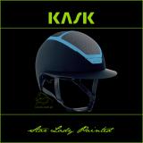Kask Star Lady Painted - KASK - granat/niebieski - roz. 55-56