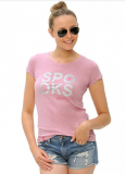 Koszulka damska Isahbella - SPOOKS - blush