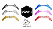 Wstawki magnetyczne górne do strzemion Flex-on ADULT - glitter