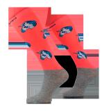 Podkolanówki jeździeckie PONY JEDNOROŻEC - Comodo - pomarańczowy neonowy