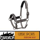 PRZEDSPRZEDAŻ Kantar PIN BUCKLE - Classic Sports A/W 21 - Eskadron - steel grey