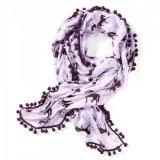 Szal / apaszka PLUM PONIES - Ariat - plum/lavender