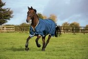Derka padokowa 100g 1000D RAMBO Original - Horseware - Denim Blue/Lime/Mustard
