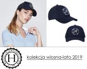 Czapka z daszkiem ROSEVILLE kolekcja wiosna-lato 2019 - Harcour
