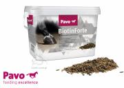 Suplement z biotyną dla mocnych kopyt i lśniącej sierści Biotin Forte 3kg - PAVO