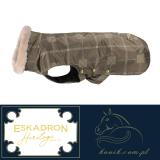 Derka dla psa Eskadron OXFORD CHECKED Heritage 2019/20 - deeptaupe/beige/creme