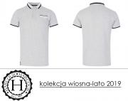 Koszulka polo MODESTO męska kolekcja wiosna-lato 2019 - Harcour