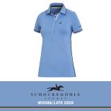 Koszulka polo MANOLI SS20 - Schockemohle - sapphire