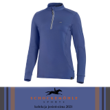 Bluzka damska WINTER PAGE.SP Style AW21 - Schockemohle - jeans blue