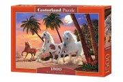 Puzzle WHITE HORSES 1500 elementów - Castorland