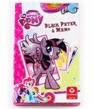 Karty do gry Czarny Piotruś i Memo My Little Pony - Hasbro
