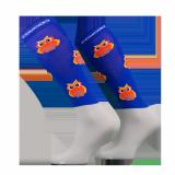 Podkolanówki jeździeckie OWL - Comodo - niebieski