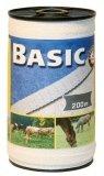 Taśma do ogrodzeń Corral BASIC 40mm - 200m - biała