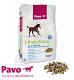Granulat wspomagająca rozwój organizmu Podo Grow 3 20kg - PAVO