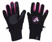 Rękawiczki zimowe polarowe FRESCO młodzieżowe - QHP